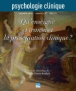 Psychologie Clinique 2011/1
