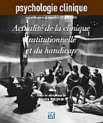 Psychologie Clinique 2013/1