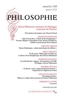 Revue Philosophie Cairn Info