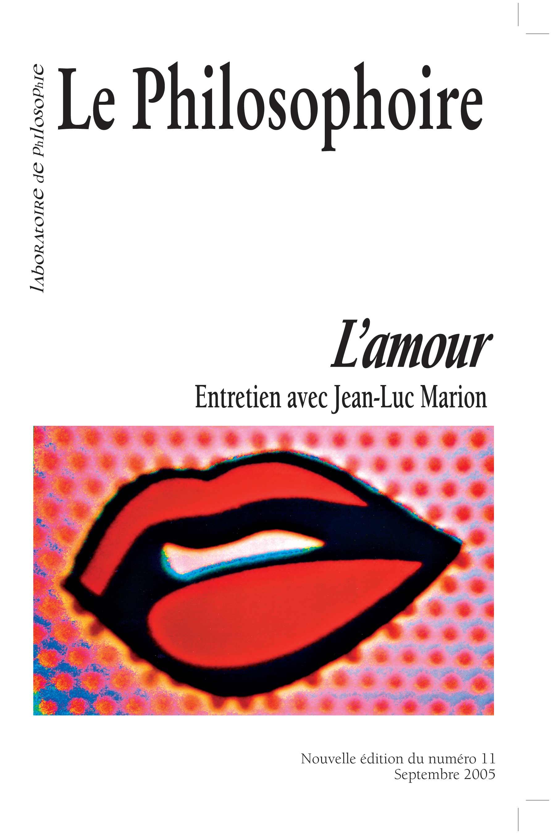Amour Et Totalité Dans Léthique De Spinoza Cairninfo