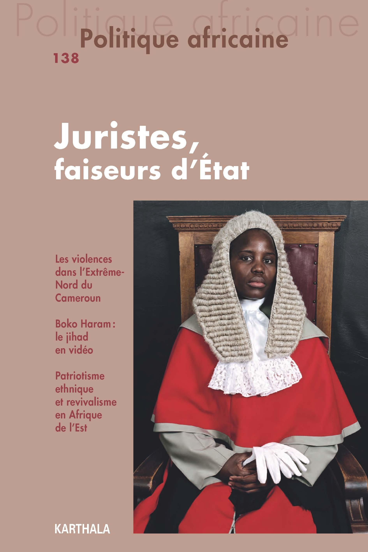 Les Juristes En Afrique Entre Trajectoires D état Sillons