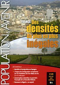 France, des densités de plus en plus inégales