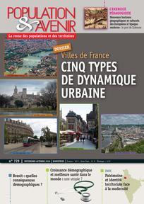 Cinq types de dynamique urbaine