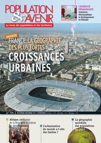 France: la géographie des plus fortes croissances urbaines