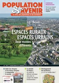 Espaces ruraux, espaces urbains