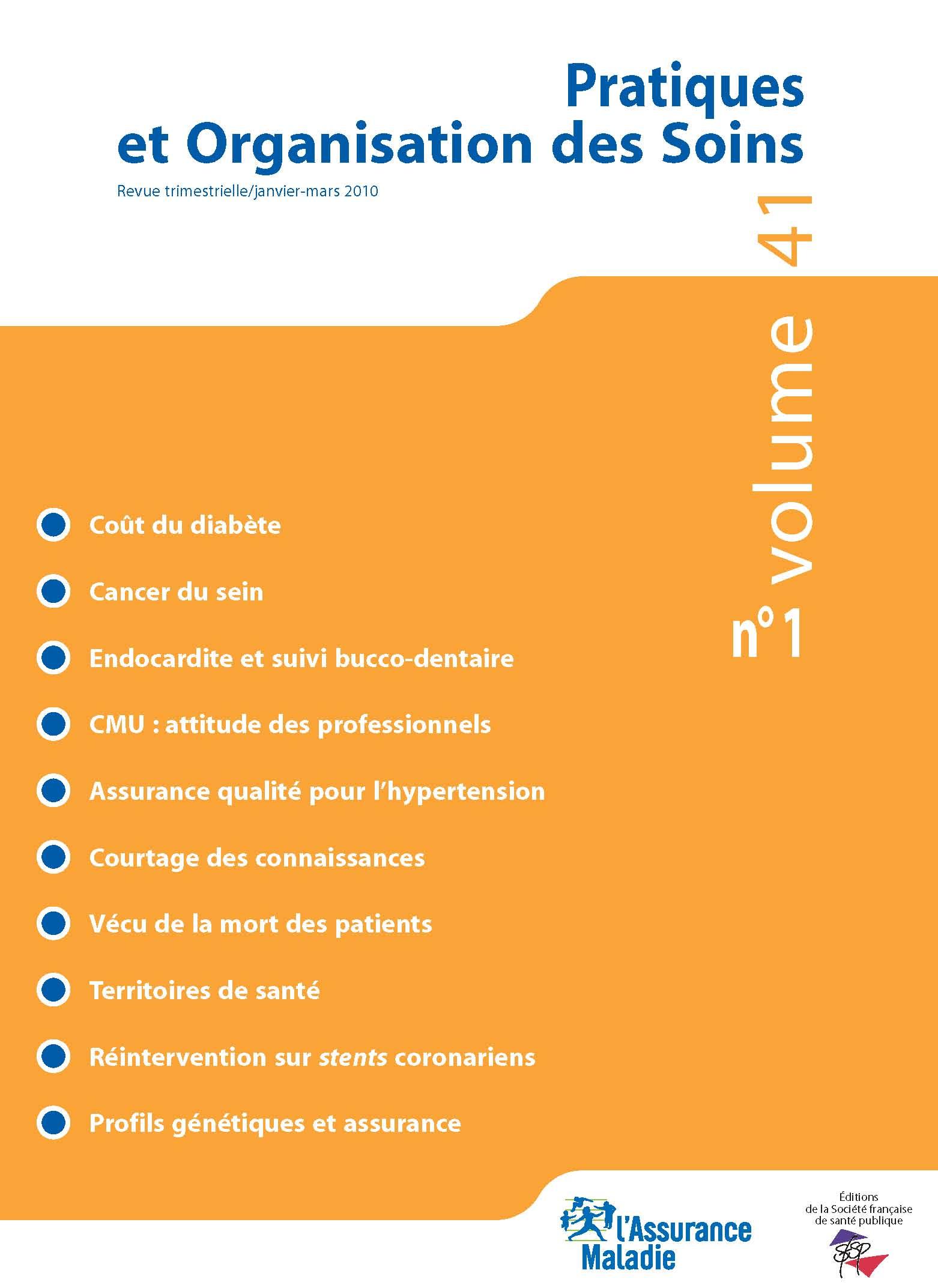8be86ae87057e5 Prise en charge des personnes à haut risque de cancer - Aspects  assurantiels   Cairn.info