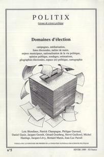 Domaines d'élection