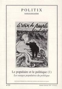 Le populaire et le politique (1)