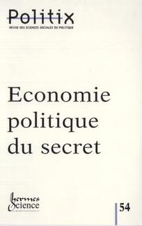 Economie politique du secret