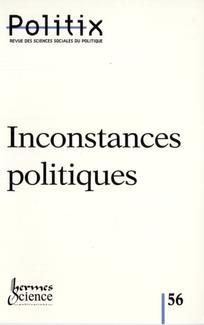 Inconstances politiques