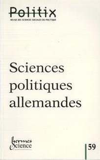 Sciences politiques allemandes