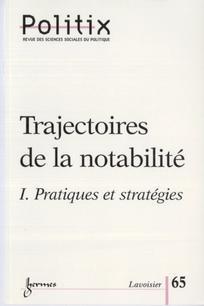 Trajectoires de la notabilité