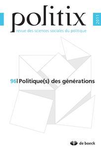 Politique(s) des générations