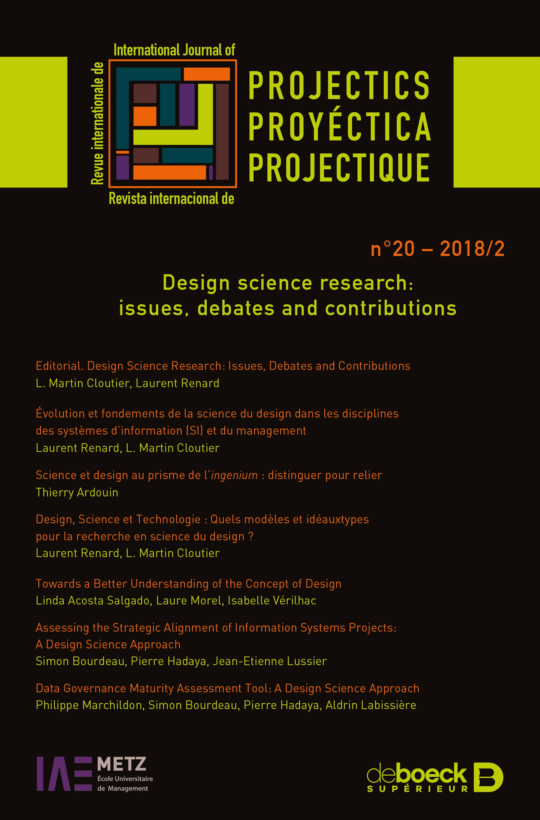 Design Science Research Issues Debates And Contributions Cairn Info