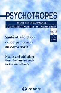 couverture de Psychotropes 2008/2