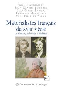 Matérialistes français du XVIII