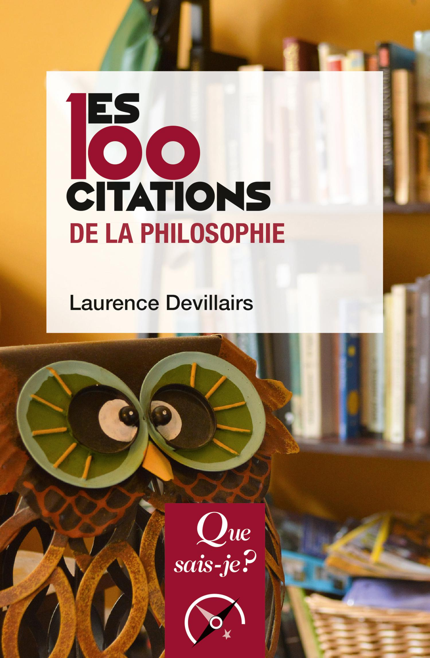 Les 100 Citations De La Philosophie Cairn Info