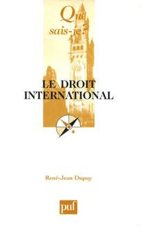 couverture de Le droit international
