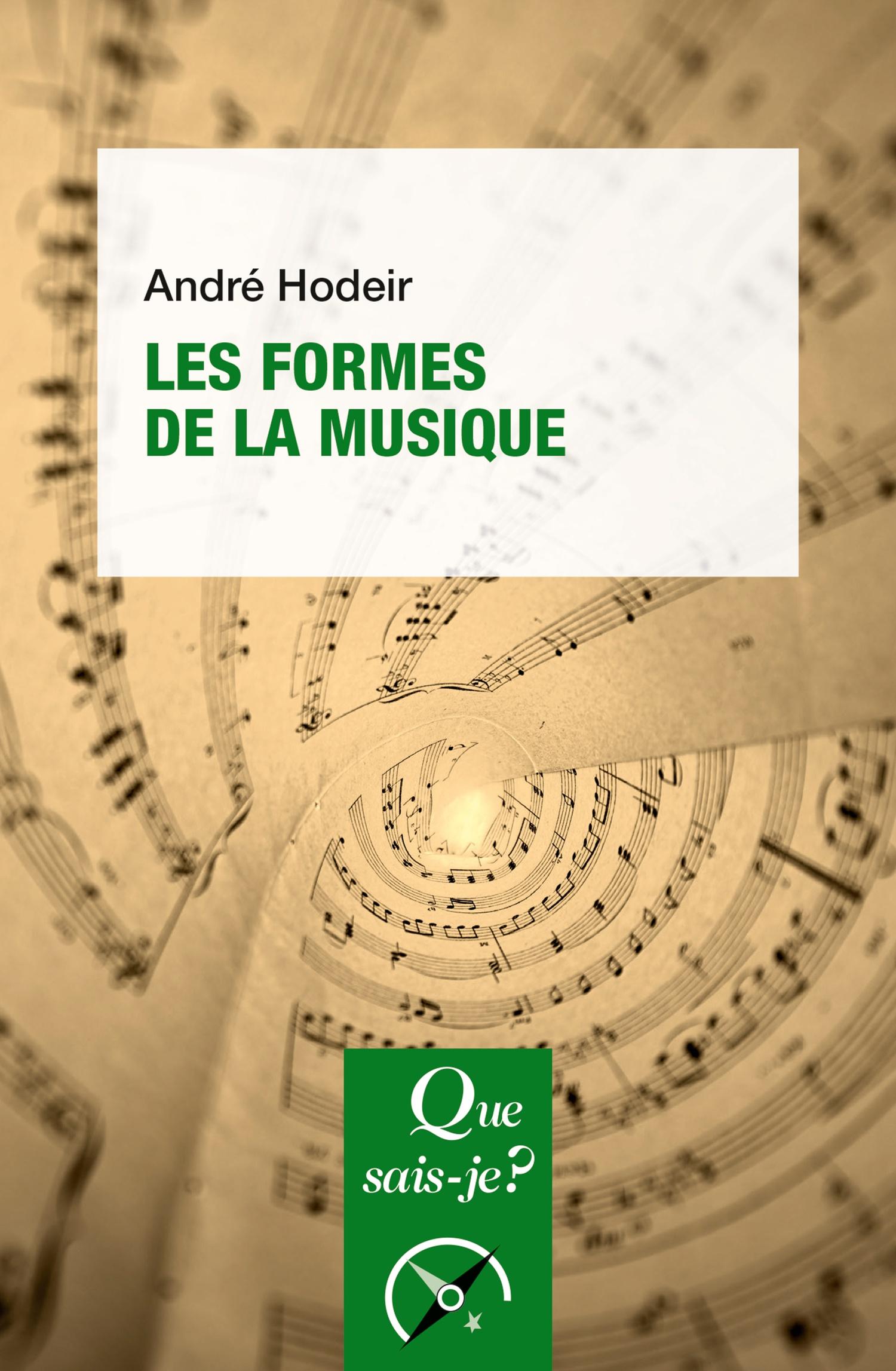Deuxième Partie Principales Formes De La Musique Cairninfo