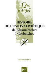 couverture de PUF_WERTH_2007_01