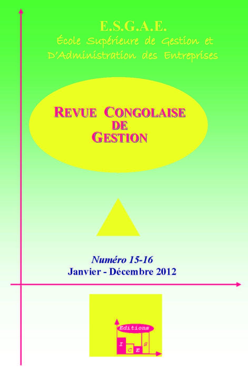 1eea2d5538d65 Les dysfonctionnements révélateurs de coûts cachés dans les entreprises  sénégalaises : quelles perspectives pour la maximisation de la valeur ?    Cairn.info
