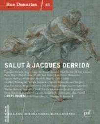 Salut à Jacques Derrida