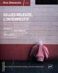 Gilles Deleuze, l'intempestif