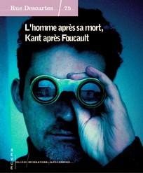 L'homme après sa mort, Kant après Foucault