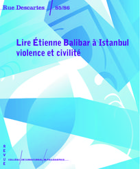 Lire Étienne Balibar à Istanbul