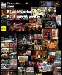 Révoltes urbaines. Politique et poésie