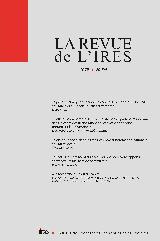 Le dialogue social dans les mairies entre subordination nationale et  vitalité locale   Cairn.info 90e7523e697c