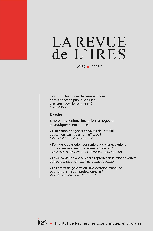 ddf15451a96 Évolution des modes de rémunérations dans la fonction publique d État   vers  une nouvelle cohérence
