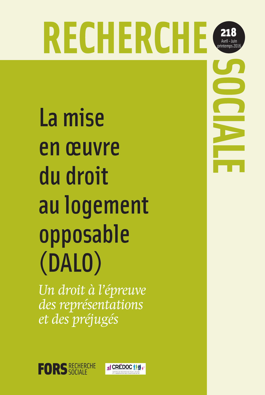 c2acb462db5 La mise en œuvre du droit au logement opposable (DALO) à l épreuve des  représentations et des préjugés