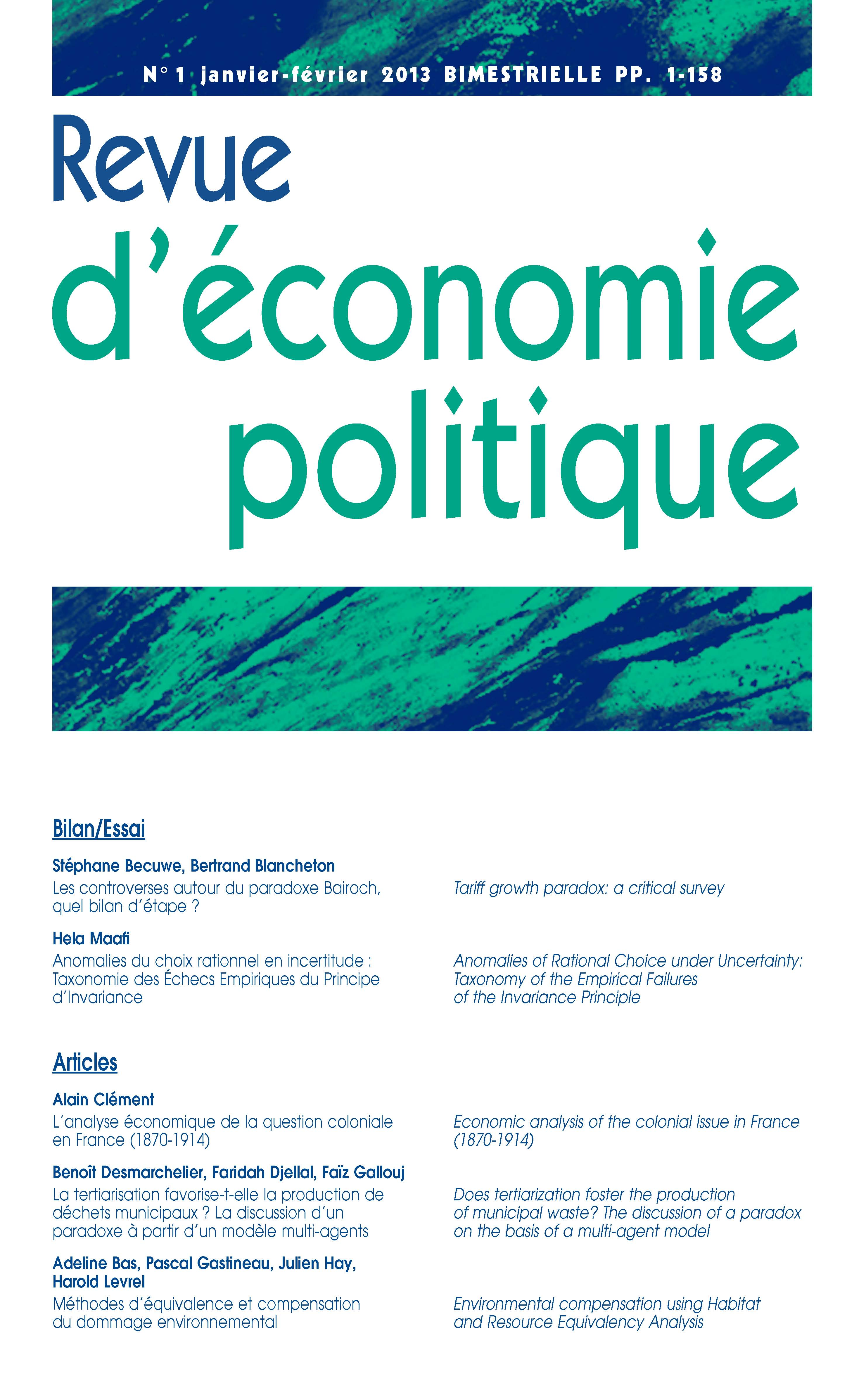 Libres contributions économiques, Tome III (French Edition)