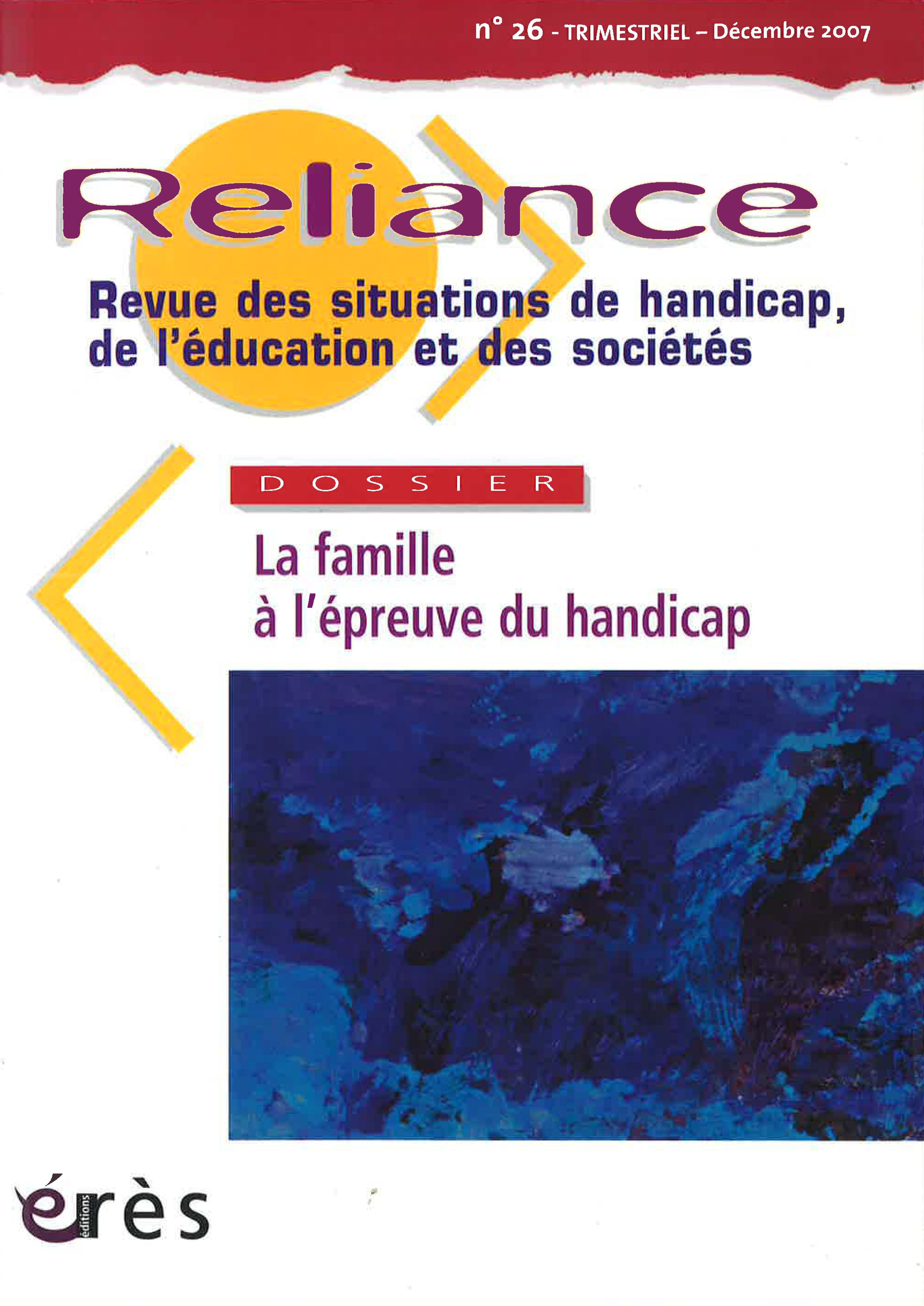L Annonce Du Handicap D Un Pourquoi à Un Autre Cairn Info