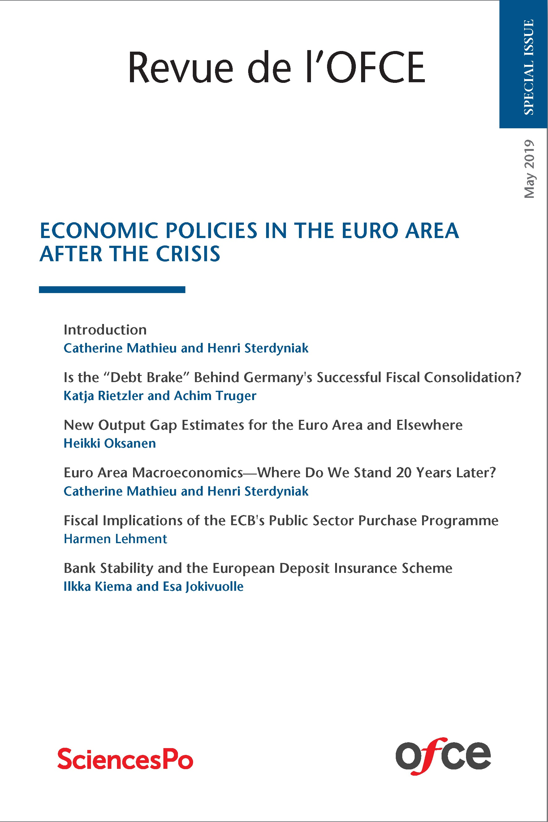 Economic Policies in the Euro Area after the Crisis | Cairn info