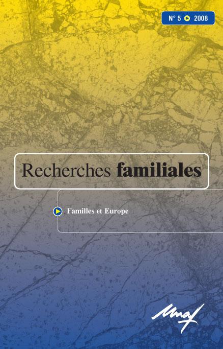 La Représentation Des Intérêts Familiaux En Europe Cairn Info