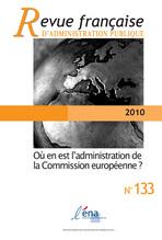 Revue française d'administration publique 2010/1