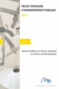 couverture de Administration et action publique en Chine contemporaine