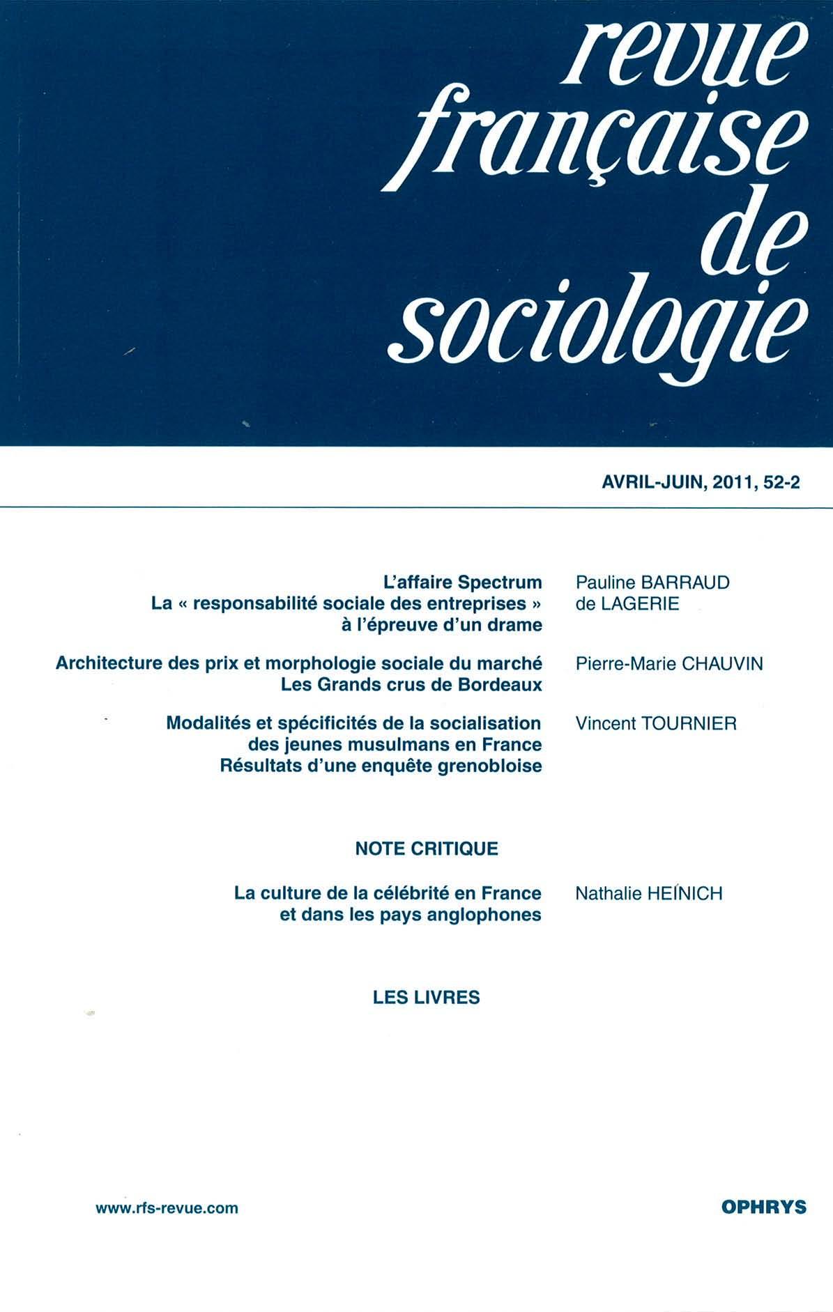 beac55b283405 Architecture des prix et morphologie sociale du marché
