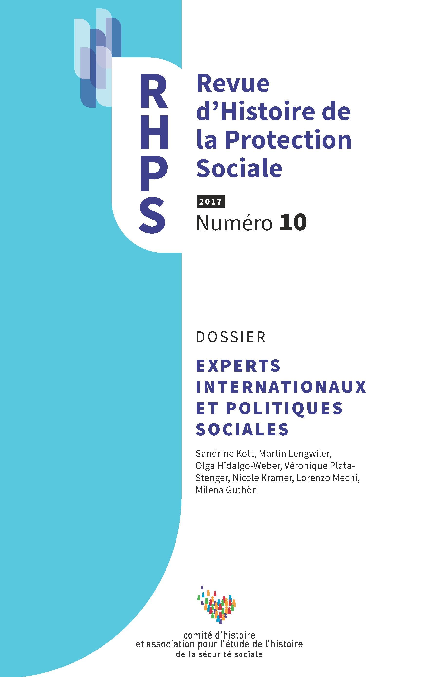 6d82f12465e Un modèle international de protection sociale est-il possible   L OIT entre  assurance et sécurité sociale (1919-1952)