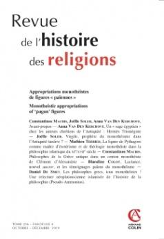 Les Philosophes Grecs Tous Monotheistes Une Relecture Neoplatonicienne Islamisee De L Histoire De La Philosophie Pseudo Ammonius Cairn Info
