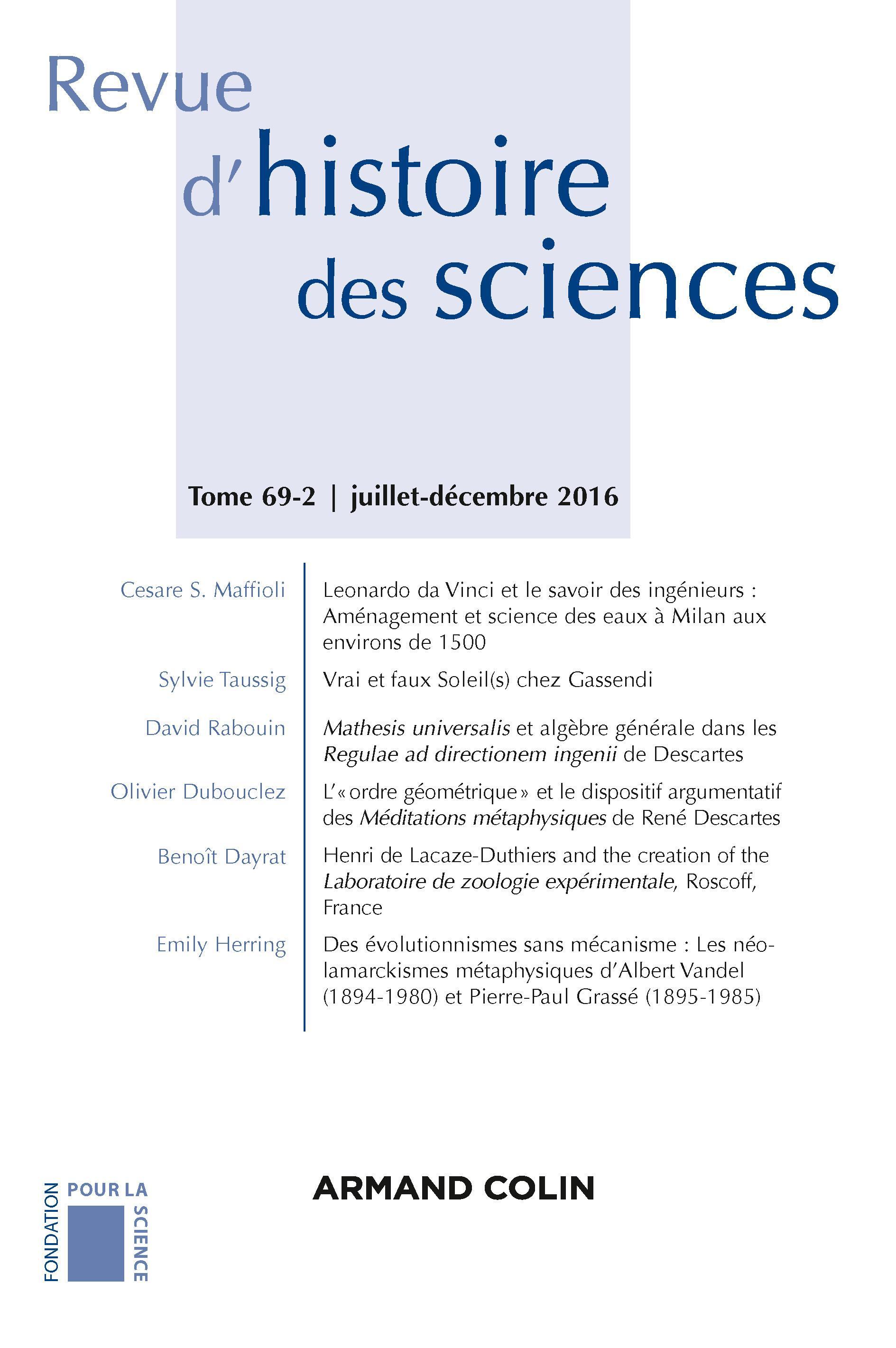 Henri de Lacaze-Duthiers and the creation of the Laboratoire de zoologie  expérimentale, Roscoff, France   Cairn.info 0888e479b789