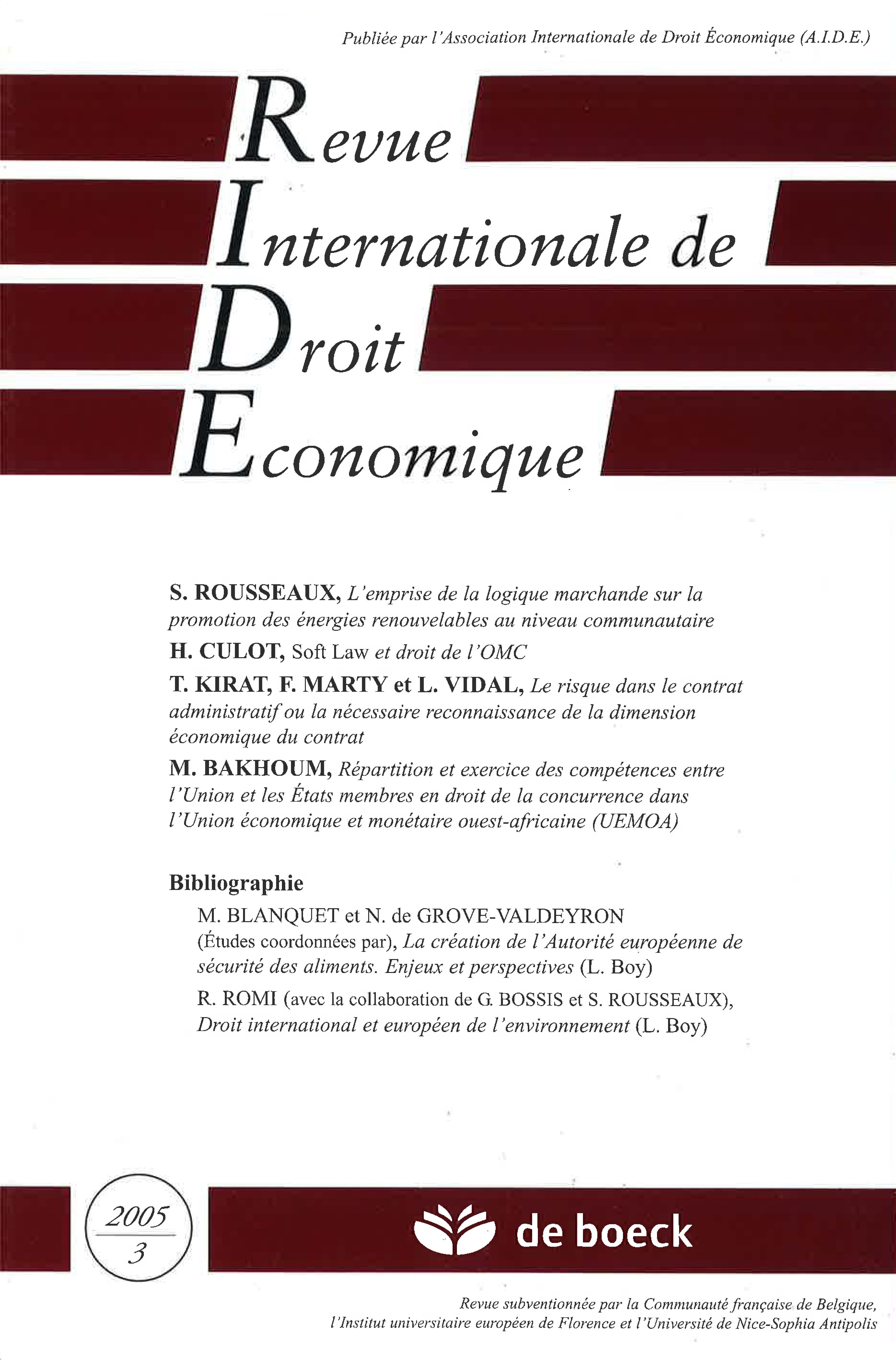 dissertation le contrat administratif contrat déséquilibré
