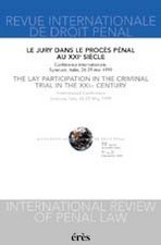 Revue internationale de droit pénal 2001/1-2