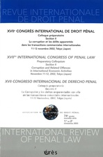 Revue internationale de droit pénal 2003/1-2