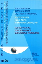 Revue internationale de droit pénal 2011/3-4