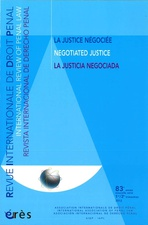 Revue internationale de droit pénal 2012/1-2