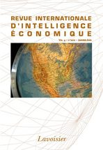 Revue internationale d'intelligence économique 2012/1