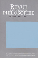 Revue internationale de philosophie 2004/4
